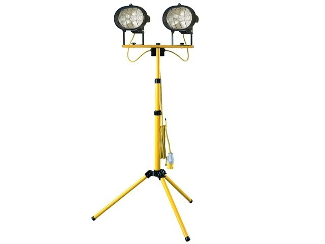 Sitelight twin adjustable stand 1000w 110v